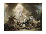 The Resurrection, C.1715-16 Giclée-tryk af Sebastiano Ricci
