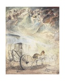 The Regatta: 'Under a Sky Where Naïdes Pour Rain with Watering Cans, and Wh Giclee Print by Gabriel De Saint-aubin