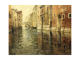 A Venetian Canal Scene Giclee Print by Fritz Thaulow