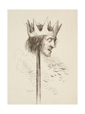Off with His Head, and Set it on York Gates; So York May Overlook the Town of York', 1890 Giclee Print