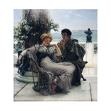 Courtship, or the Proposal, 1892 Giclee Print by Sir Lawrence Alma-Tadema
