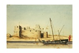 Kamaran Fort, Red Sea, 1834 Giclee Print by Rupert Kirk