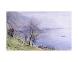 Above Montreux Giclee Print by John William Inchbold