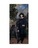 John Manners, Later 9th Duke of Rutland, C.1898-99 Giclee Print by James Jebusa Shannon