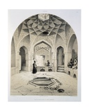 Rest Room Beside the Baths at Shemakha, 1847 Giclee Print by Grigori Grigorevich Gagarin