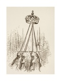 Swords Supporting the Crown, 1890 Giclee Print
