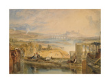 Lancaster from the Aqueduct, C.1825 Giclee Print by J. M. W. Turner