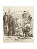 Joan La Pucelle at the Stake, 1890 Giclee Print by Sir John Gilbert