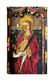 St Apollonia, Detail of the Rood Screen, St Catherine's Church, Ludham, Norfolk, Uk Giclée-Druck