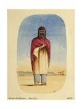 Arab Costume, Mocha, 1835 Giclee Print by Rupert Kirk
