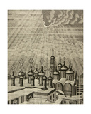 Moscow from Above, C.1980s Giclee Print by Masabikh Akhunov
