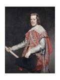 Philip IV, King of Spain Giclée-Druck von Diego Rodriguez de Silva y Velazquez