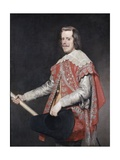 Philip IV, King of Spain Giclee Print by Diego Rodriguez de Silva y Velazquez