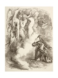 Joan La Pucelle Abandoned by Her Friends, 1890 Giclee Print by Sir John Gilbert