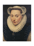 Portrait of a Young Lady, 1581 Giclee Print by Frans I Pourbus