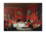 The Melton Hunt Breakfast Giclee Print by Sir Francis Grant