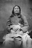 Spotted Tail, Sioux Chief, C.1870 Photographic Print by William Richard Cross