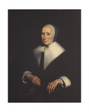 Portrait of a Woman, 1663 Giclee Print by Nicolaes Maes