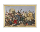 A Slap at the Charleys or a Tom and Jerry Lark, Vide New Poliece Bill', 1829 Giclee Print by William Heath