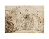 The Sacrifice of Iphigenia Giclee Print by Antonio Gionima