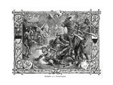 Knights at a Tournament, C.1882 Giclee Print by Hermann Vogel