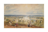 Richmond Hill, C.1825 Giclee Print by Joseph Mallord William Turner