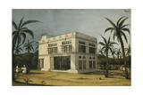 Country House of Sheik Tybe, Near Mocha, 1832 Giclee Print by Rupert Kirk