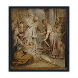 The Discovery of Achilles Among the Daughters of Lykomedes, C.1618 Giclee Print by Peter Paul Rubens