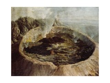 Inner Crater of Mount Vesuvius, C.1775 Giclee Print by William Hodges