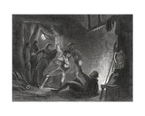 Death of the Earl of Desmond, from 'The History of Ireland' by Thomas Wright, Published C.1854 Giclee Print by Henry Warren