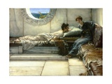 The Secret, 1887 Giclee Print by Sir Lawrence Alma-Tadema