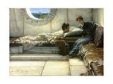 The Secret, 1887 Giclee Print by Sir Lawrence Alma-Tadema
