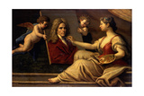 An Allegory of Art Giclee Print by Paolo Di Matteis