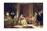 Queen Elizabeth Discovers She Is No Longer Young Giclee Print by Augustus Leopold Egg