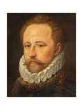Portrait of a Bearded Gentleman in Armour, C.1570 Giclee Print by Frans I Pourbus