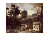 Pan and Syrinx Giclee Print by Gerard Hoet