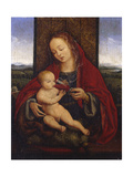 The Madonna and Child Enthroned Giclee Print by Cornelis van Cleve