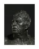 Bust of Ingres (Detail) Giclee Print by Emile-antoine Bourdelle