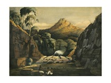 Ravine at the Foot of the Abyssinian Mountains Between Hamasene and Massowah, 1833 Giclee Print by Rupert Kirk