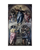 Assumption of the Virgin, 1577 Giclee Print by  El Greco