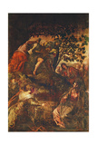 The Raising of Lazarus, C.1575 Giclee Print by Jacopo Robusti Tintoretto