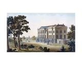 Château De Brockhuysen, Near Ameronghen, from 'Choix Des Monuments, Edifices Et Maisons Les Plus… Giclee Print by Pierre Jacques Goetghebuer