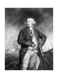 Thomas, Lord Graves, Engraved by Francesco Bartolozzi Giclee Print by James Northcote