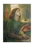 Beata Beatrix Reproduction procédé giclée par Dante Gabriel Rossetti