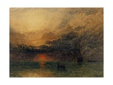 Before the Storm, 1874 Giclee Print by Henry Dawson