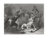 The Murder of Lord Kilwarden by Robert Emmet's Rebels in Dublin, Ireland, 1803, from 'The History… Giclee Print by Henry Warren