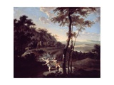 Apollo and Daphne Giclee Print by Gerard Hoet