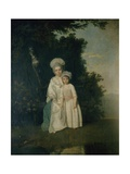 Mother and Child, C.1775 Giclee Print by Francis Wheatley