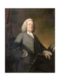Dr Richard Russell Frs, C.1755 Giclee Print by Benjamin Wilson
