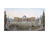 The Royal Palace of Laeken, from 'Choix Des Monuments, Edifices Et Maisons Les Plus Remarquables… Giclee Print by Pierre Jacques Goetghebuer